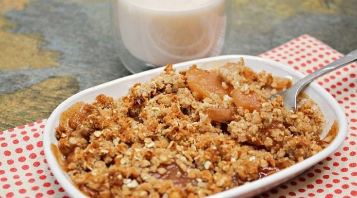 Individual Apple Crumbles    Low Fat & Gluten Free